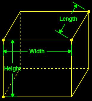 Tank Volume Calculator Square, Rectangular